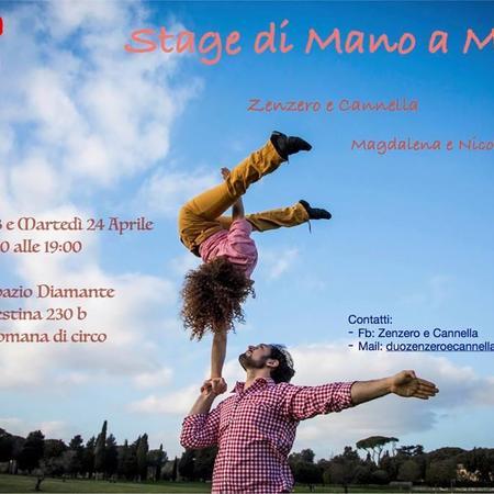 Stage di Mano a Mano con Zenzero e Cannella