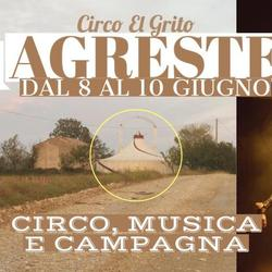 Opening in Agreste - Circo Contemporaneo, Musica e Campagna