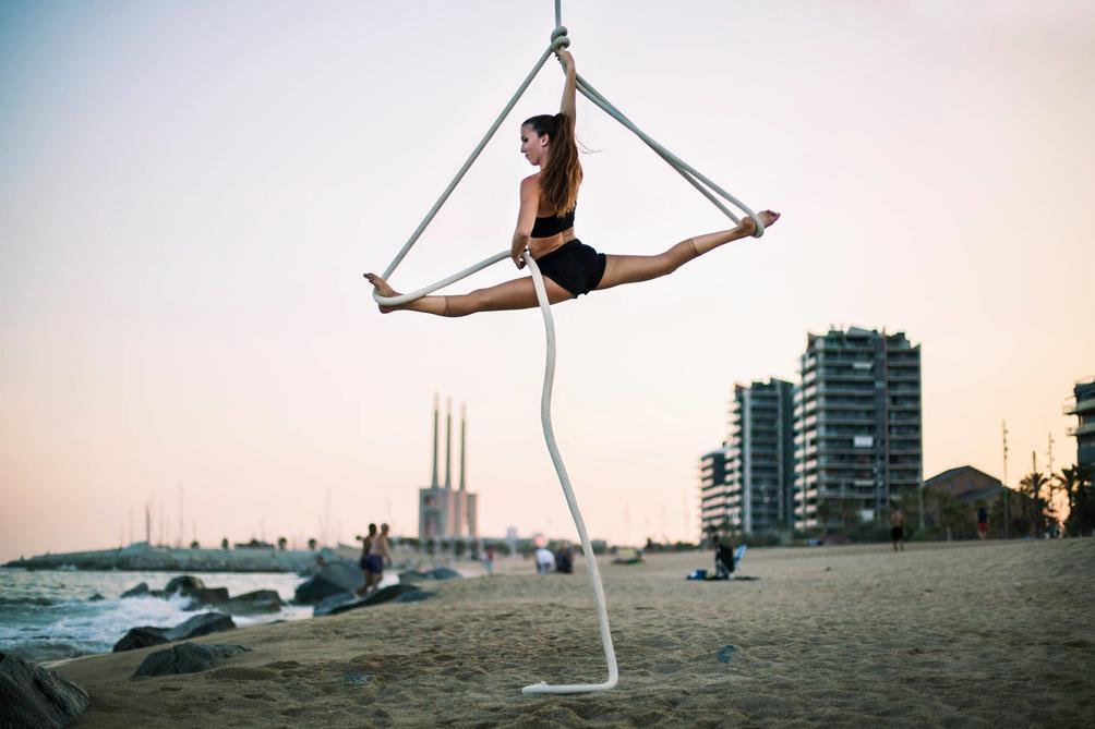 Ilaria Maggiorano, Danza aerea