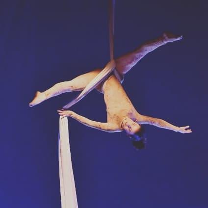 Elisa Alcalde, Danza Aerea