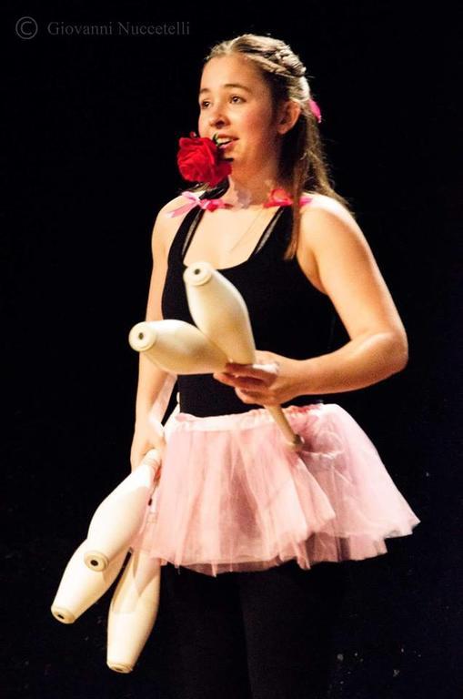 Sandra Morandell, premiata al Young Circus Festival