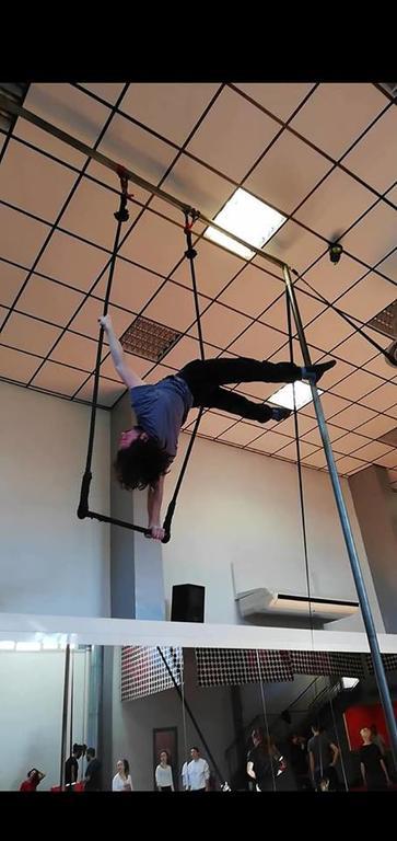 Intensivo di trapezio con Fabrizio Spiteri